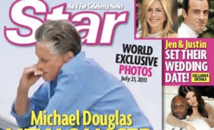 Michael Douglas: Smoking After Beating Throat Cancer?