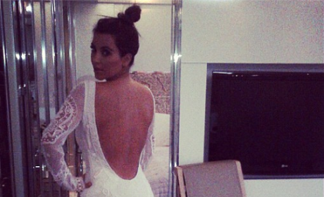 Kim Kardashian Wedding Gown?