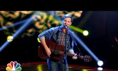 Brian Pounds - Wagon Wheel (The Voice Blind Audition)