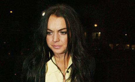 What Rehab? Lindsay Lohan Partying Like a Madman