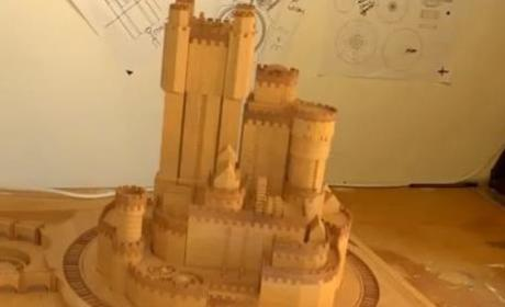 Brothers Construct 3D Game of Thrones Castle