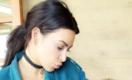 Kim Kardashian and Luna, Chrissy Teigen's baby