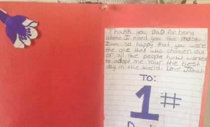 Single Dad Adopts 12-Year-Old, Receives Sweetest Note in History