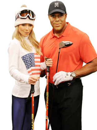 Kelly Ripa as Lindsey Vonn