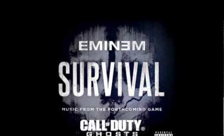 "Eminem ""Survival"" Single Drops, Introduces Liz Rodrigues"