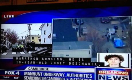 Zooey Deschanel Named as Boston Bombing Suspect in Hilarious Closed Captioning Fail