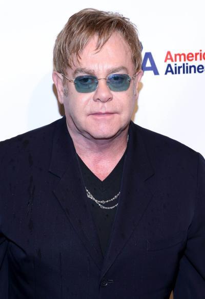 Elton John Red Carpet Pic