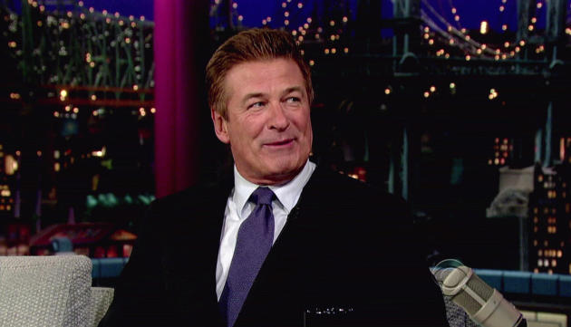 Alec Baldwin on The Late Show
