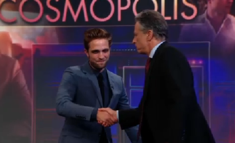 Robert Pattinson Daily Show Interview