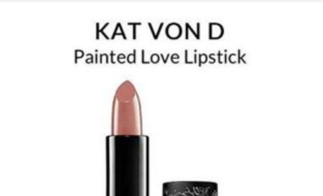 Celebutard: Kat Von D Lipstick Pulled By Sephora Amid Complaints Over Name