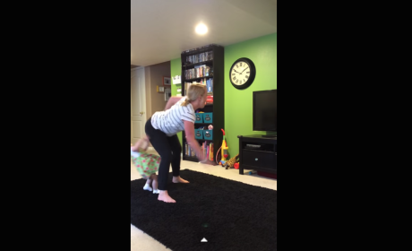 Woman Twerks, Knocks Over Toddler