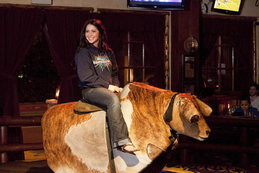Bristol Palin Riding