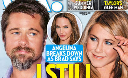 Brad Pitt: I Love Jennifer Aniston (According to OK)!