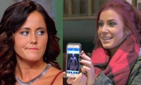 Jenelle Evans-Chelsea Houska Photo