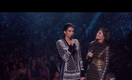 Kendall Jenner and Kylie Jenner: Booed at Billboard Music Awards