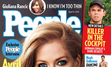 Avril Lavigne April 2014 People Cover