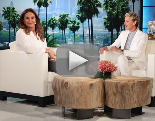 Caitlyn jenner on ellen i feel fabulous