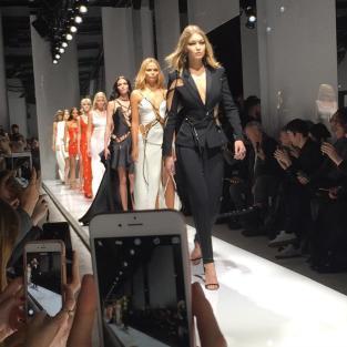 Gigi Hadid Walks in Atelier Versace Show