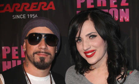 A.J. McLean and Rochelle Karidis: Married!