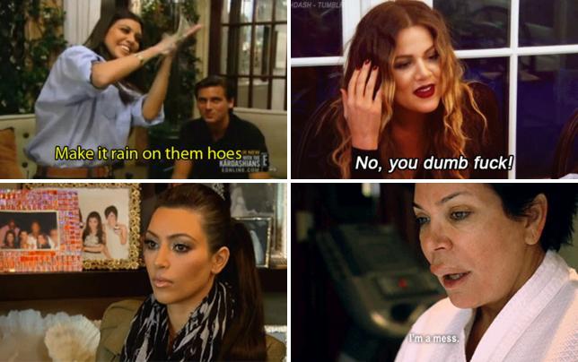 Kourtney kardashian make it rain on them hoes gif