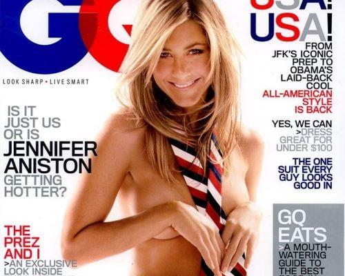 Jennifer aniston on gq