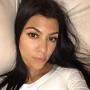 Kourtney Kardashian No Makeup Selfie