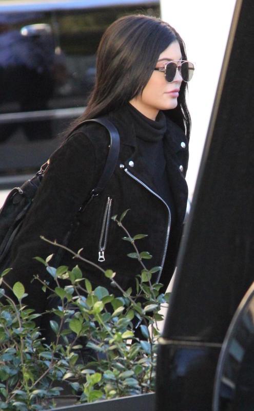 Kylie jenner shops at barneys new york