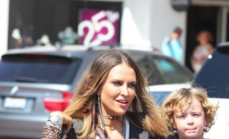 Brooke Mueller as a Mother