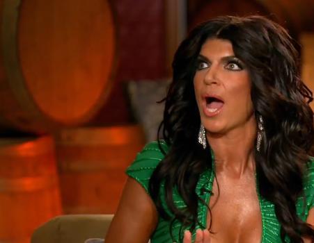 Teresa Giudice: Shocked