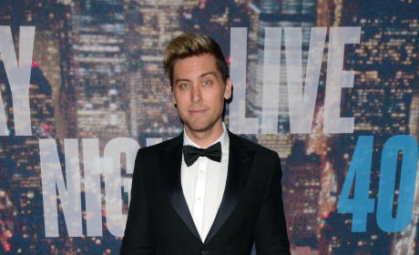 Lance Bass at SNL 40