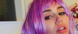 """Miley Cyrus Goes Topless, Encourages Fans to Be """"Free"""""""