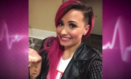 Demi Lovato Shaves Head, Doesn't Give a F--k!