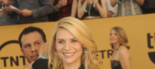 Claire Danes at the SAG Awards