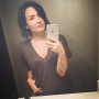 Demi Lovato!: No Makeup Selfie