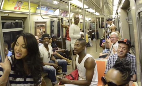 "The Lion King Cast Shocks NYC Subway Riders, Breaks Into ""Circle of Life"""