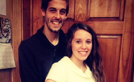 Jill Duggar Baby Bump Christmas Photo