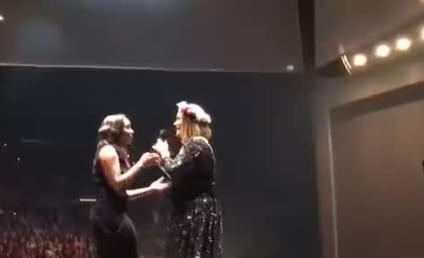 Adele Fan Joins Singer on Stage, Blows Universe Away