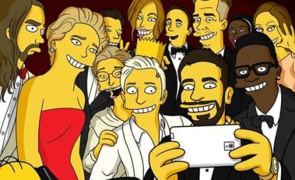 Oscars Selfie Gets the Homer Simpson, LEGO Treatment