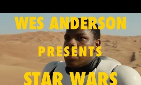 Star Wars Force Awakens Trailer... Presented by Wes Anderson
