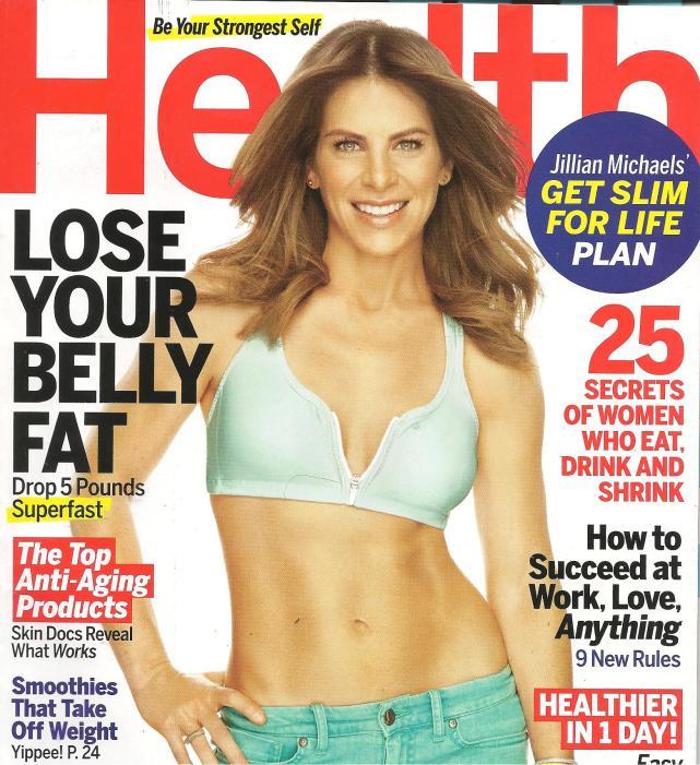 Jillian Michaels Magazine Cover