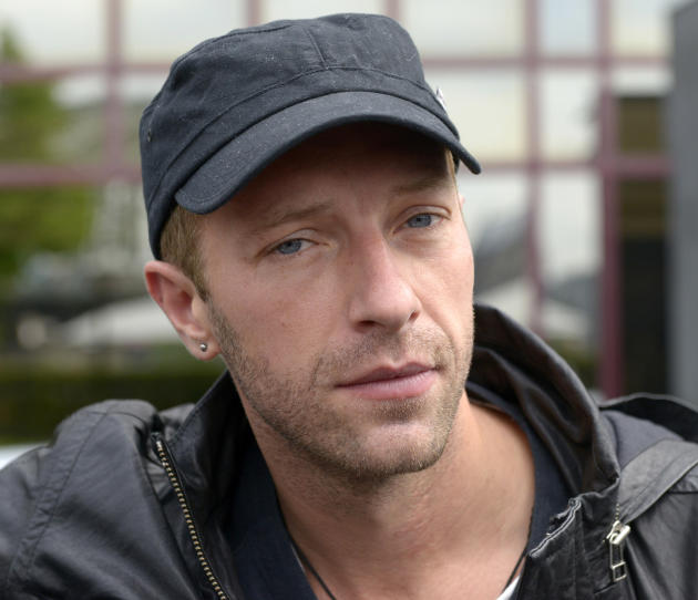 Chris Martin Close-Up