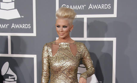 Jenna Jameson at the Grammys