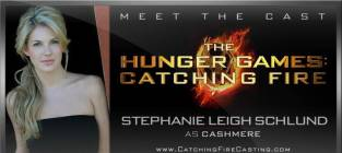 Stephanie Leigh Schlund Cast as Cashmere in Catching Fire