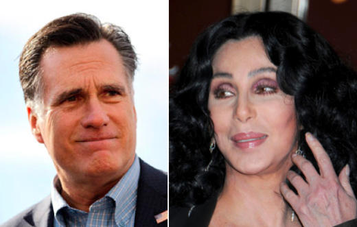 Cher and Mitt