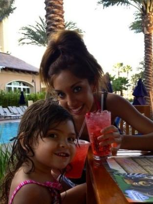 Farrah Abraham and Daughter