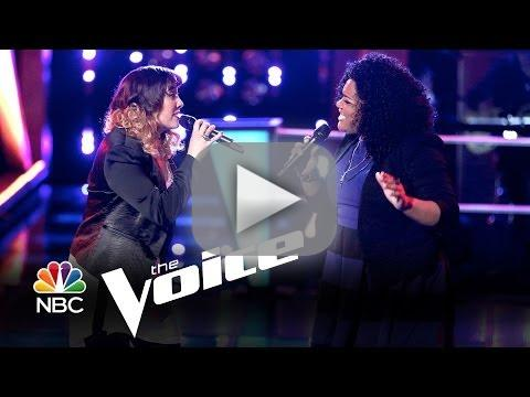 Cierra Mickens vs. Emily B: 'Brave' (The Voice Battle Round)
