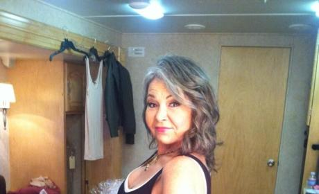 Roseanne Barr Poses Like Kim Kardashian: Hey There, Kanye...