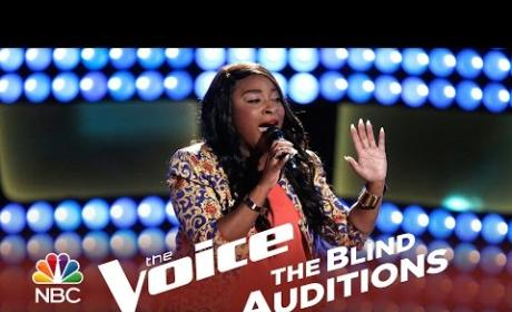 Toia Jones - One and Only (The Voice Auditon)