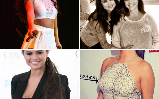 Selena gomez crop top photo