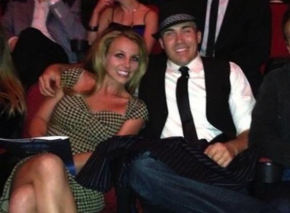 David Lucado With Britney Photo